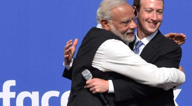 Modi-Zuckerberg-facebook