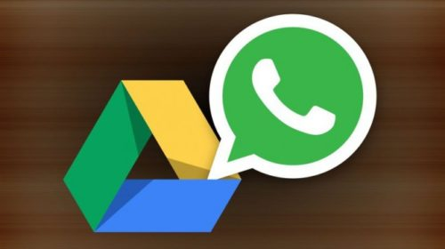 Start your WhatsApp back up now on Google Drive!