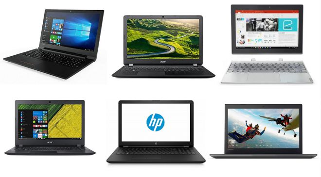 Best laptops to buy in India between the price range of Rs. 20,000 to Rs. 50,000