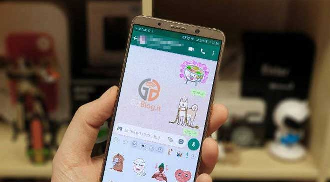 New sticker feature on WatsApp for iPhone and Android is ready and gaining a lot of popularity!