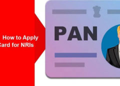 Procedure to apply for PAN card by NRIs
