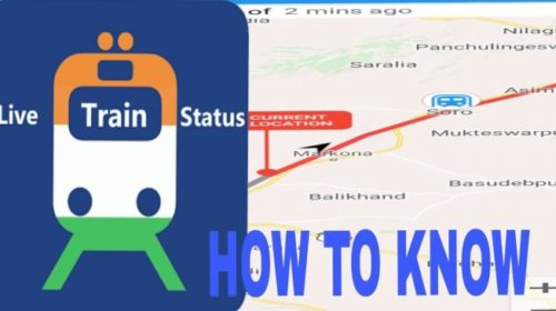 Here's how to check live train status using Google Maps