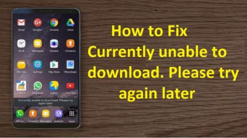 Unable to download apps on your Android smartphone? Here's how to fix it