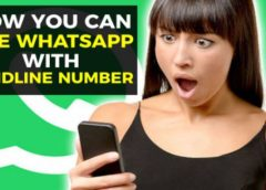 How to use WhatsApp using a landline number without revealing your mobile number?