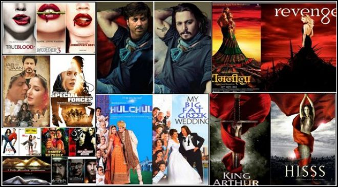 Posters of Bollywood are copied from Hollywood
