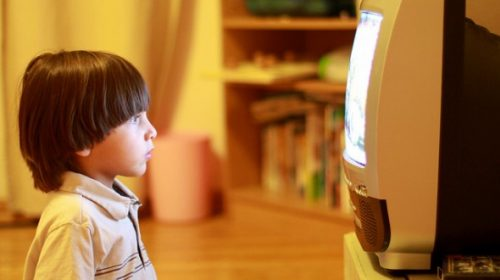 Effect of watching television on children