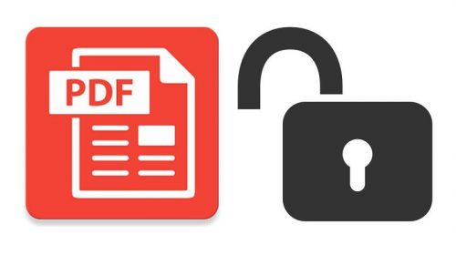 Make Your PDF files Password Free easily: check How