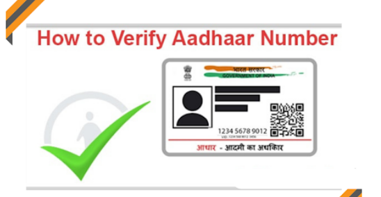 Process to verify Aadhaar number Online; Check details