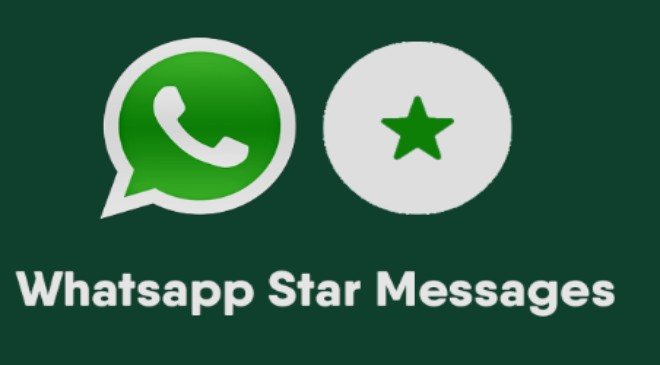 All you need to know about Whatsapp Star message