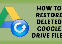 Steps to Retrieve Deleted Files from Google drive